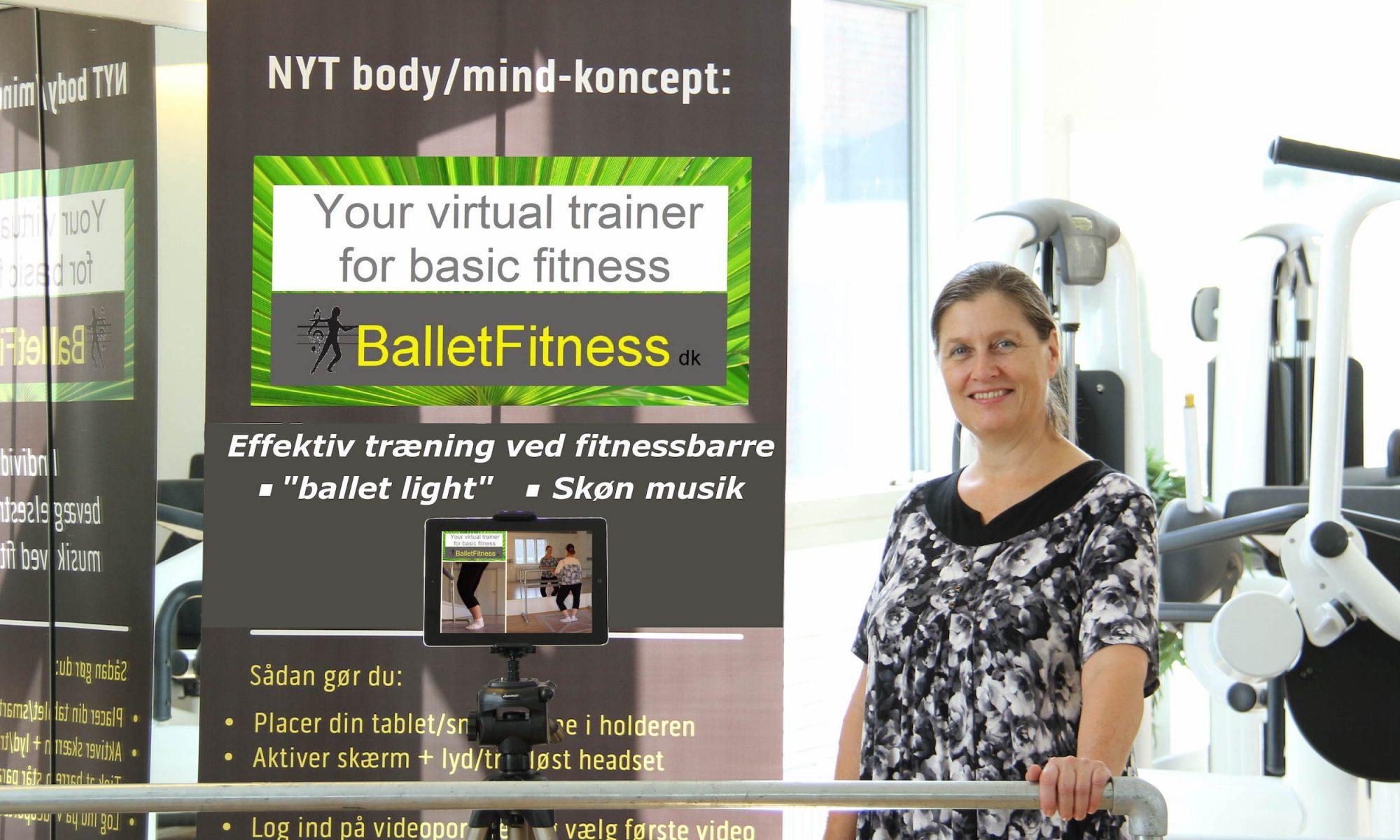 Kom i form som en danser. Skab nemt dit eget lokale balletfitness-hold eller træn online.