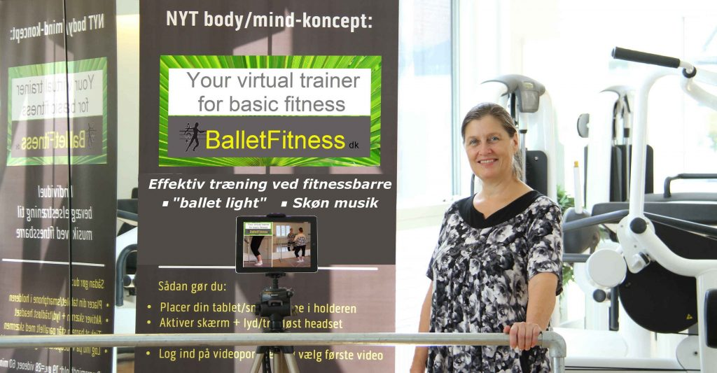 BalletFitness-systemet er udviklet af Charlotte de Neergaard og egner sig til idrætsforeninger, danseskoler, træningscentre og kulturskoler.