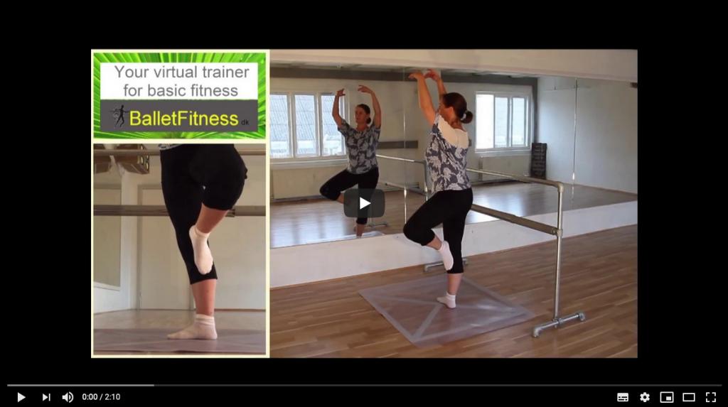 Som holdvært i BalletFitness får du mulighed for at understøtte undervisningen med vores omfangsrige serie af træningsvideoer.