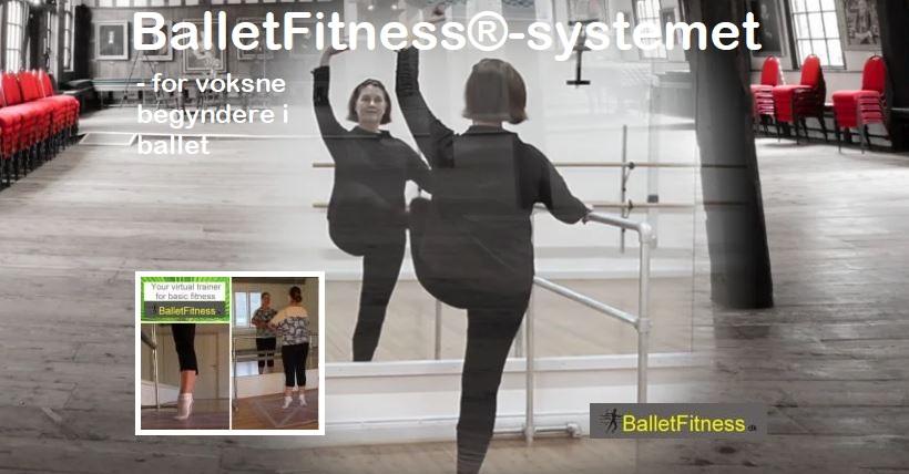 BalletFitness-systemet er udviklet af Charlotte de Neergaard